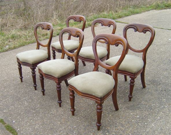 Victorian Balloon Back Dining Chairs ANTIQUE FURNITURE WAREHOUSE Victorian Balloon  Back .
