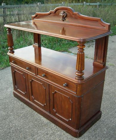 buffet server furniture. Victorian Buffet Server - Mahogany Dining With Cupboard Base Furniture